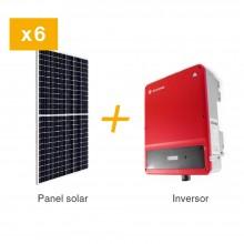 KIT FV 3 KW / PANEL SOLAR 450 W. INCLUYE 6 PANELES